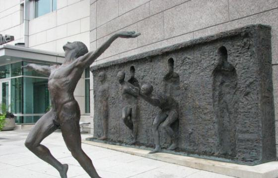 Freedom: Sculpture by Zeno Frudakis