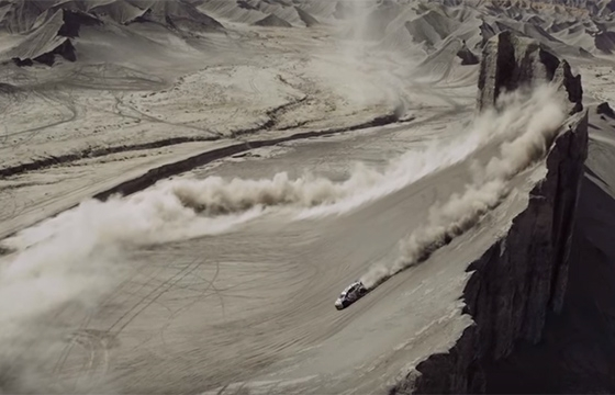 "video: Ken Block in ""Blast"" by Jim Mangan"