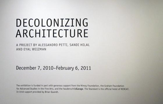IN L.A.: Decolonizing Architecture at Redcat Gallery