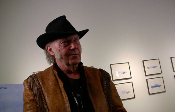 "Juxtapoz Presents: Neil Young ""Special Deluxe"""