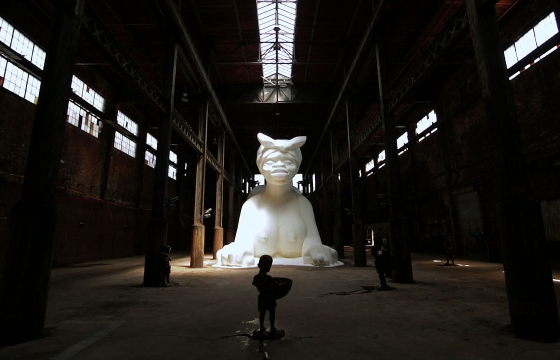 "Watch: Kara Walker ""A Subtlety, or the Marvelous Sugar Baby"""