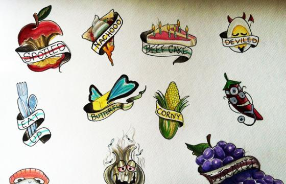 Food Tattoos for Hunger