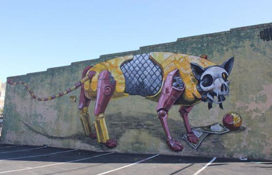 Another new Pixel Pancho Mural in Richmond, Va