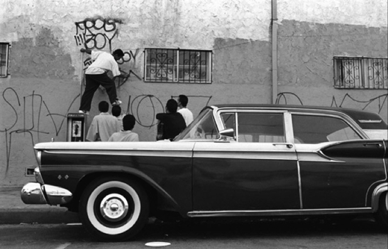 Los Angeles Gang Graffiti in Robert Yager's photography