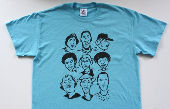 Style Wars Portrait T-shirt by Curve