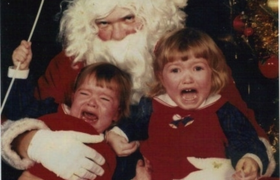 Merry Christmas From Creepy Santas