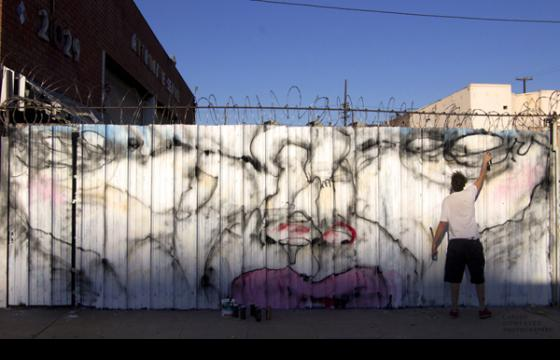 New Anthony Lister Wall in L.A.