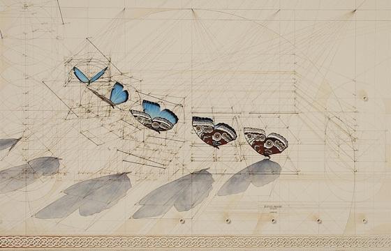 """Calculation"" Drawings by Rafael Araujo"