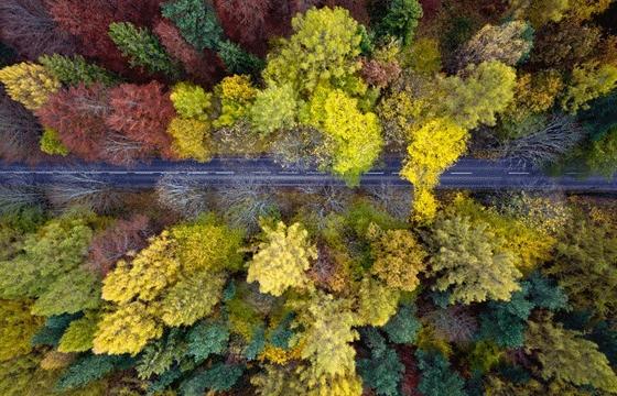 Aerial photography by Kacper Kowalski