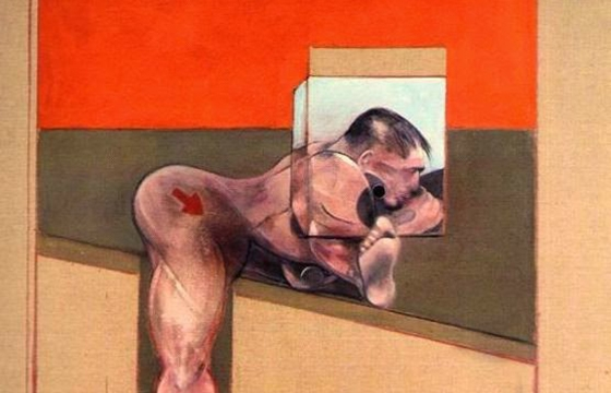 "Francis Bacon's ""Study for a Human Body"""