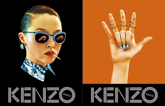 Toilet Paper hooks up Kenzo's Spring/Summer 2014 Campaign