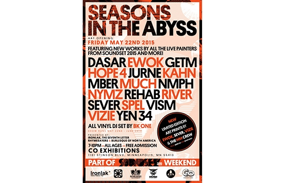 Soundset 2015 -SEASONS IN THE ABYSS