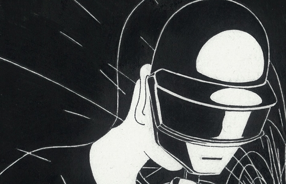 "Daehyun Kim's ""Random Access Memories"" Inspired by Daft Punk"