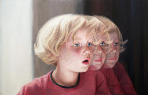 Refracted Portraits by Deenesh Ghyczy