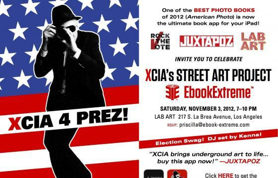 xCIA Rock the Vote Event, November 3 @ Lab Art, LA