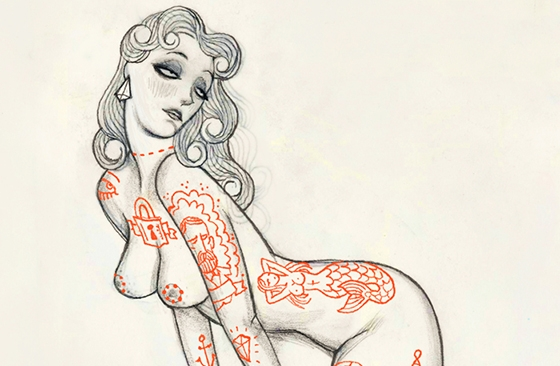 Timothy J Lamb's Sultry Illustrations