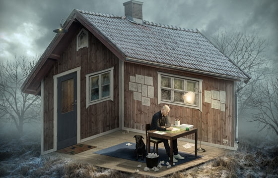 Erik Johansson's Escher-Inspired Photomanipulations