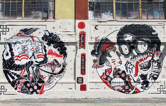 The Yok x Sheryo at 5 Pointz