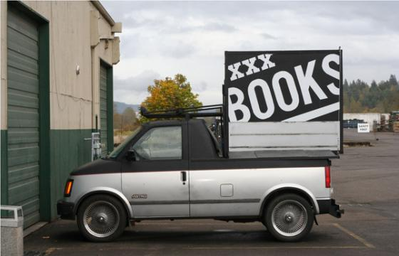 XXX BOOKS Chopped Astro Van