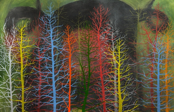 Stanley Donwood... On Trees