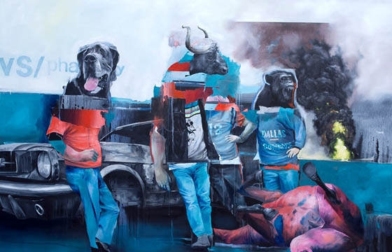 "Joram Roukes ""Mellon Collie and the Infinite Sadness"" @ B15 Gallery, Copenhagen"