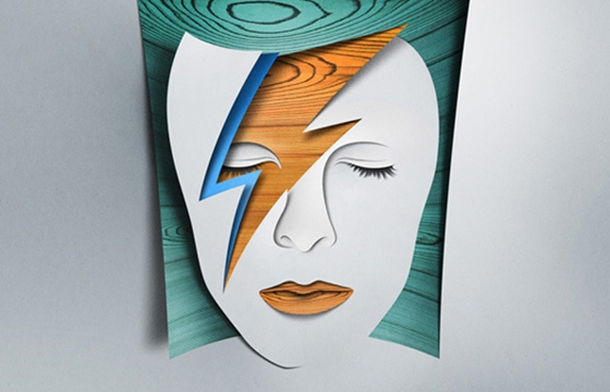 Paper collages by Eiko Ojala