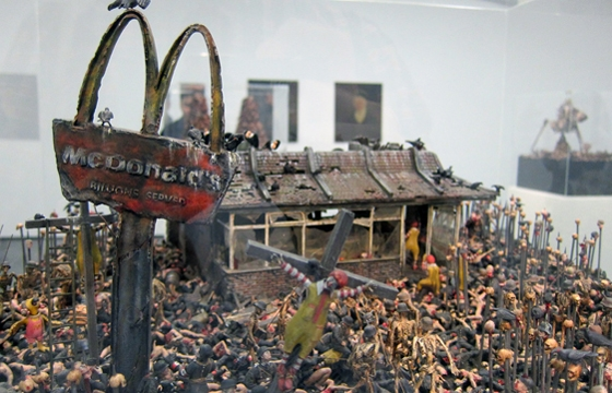 "Best of 2013: Jake & Dinos Chapman ""The Sum of All Evil"" @ White Cube Gallery"