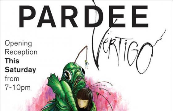 Free Mini-Prints at Opening of Alex's Pardee's VERTIGO