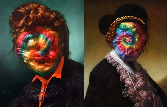 The Wonderfully Bizarre Paintings of Christian Rex van Minnen