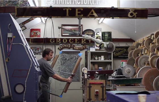video: David A Smith - Sign Artist