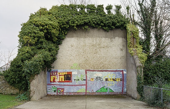 The abandoned handball courts of Ireland