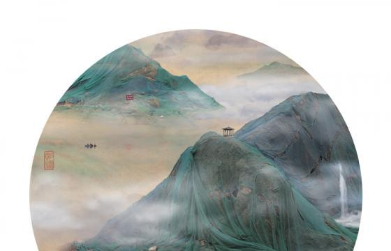Landfills in the Style of Traditional Chinese Landscapes by Yao Lu