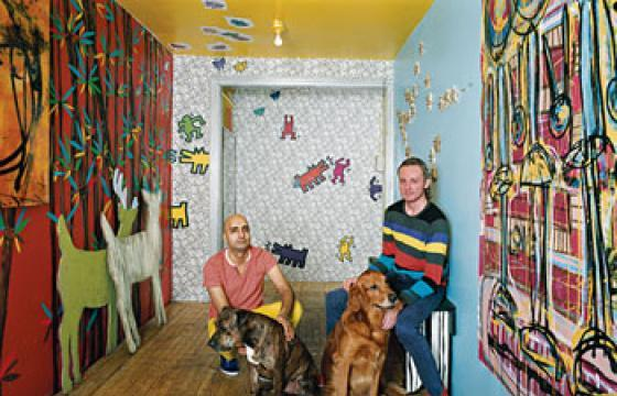 In the House of the Radiant Baby: Keith Haring's Apartment