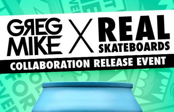 Greg Mike x Real Skateboards