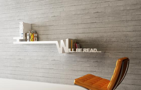 Amazing Book Shelf by Mebrure Oral