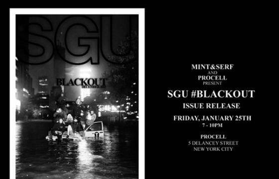 #Blackout Issue Release Party