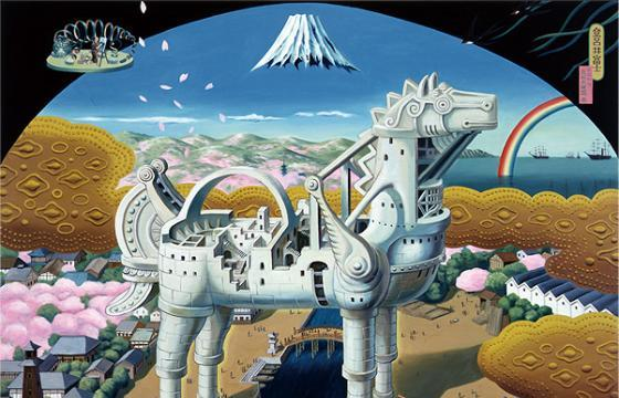 The Surreal Universe of the late Tiger Tateishi