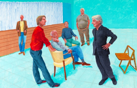 "David Hockney ""Some New Painting (and Photography)"" @ Pace Gallery, NYC"