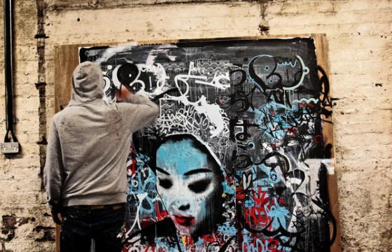 Feature: Blek le Rat interviews HUSH