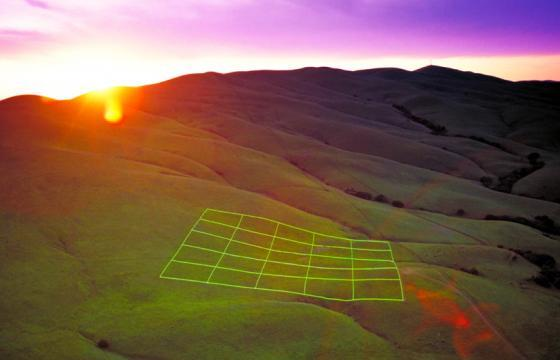 Luminous Earth Grid by Stuart Williams