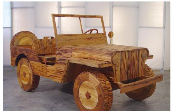 Wood Sculptures by Lee Stoetzel