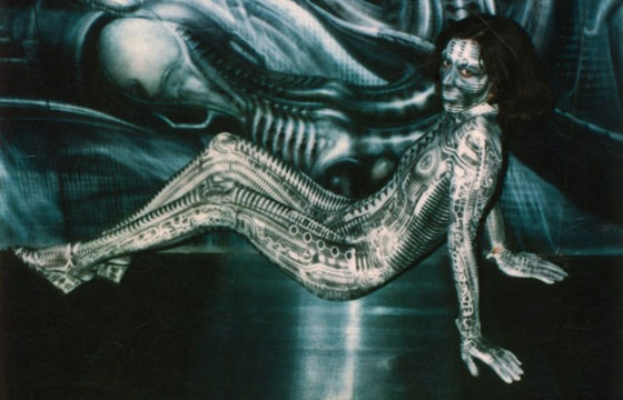 The Polaroids of H.R. Giger
