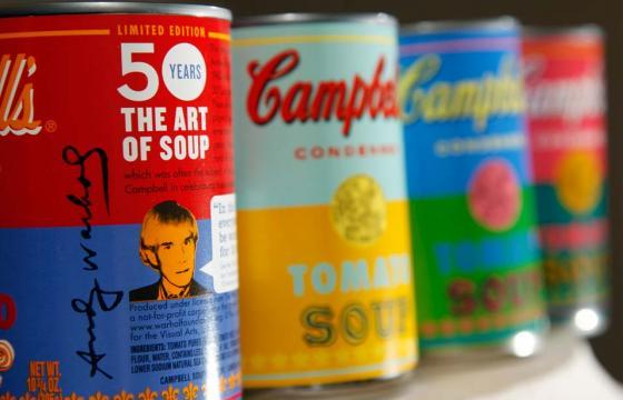 Campbell's Soup Limited Edition Andy Warhol... Soup