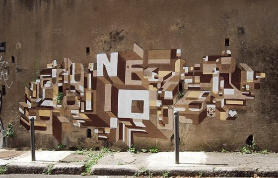 In Street Art: The Work of Nelio