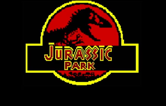 Jurassic Park as an 8-bit Game