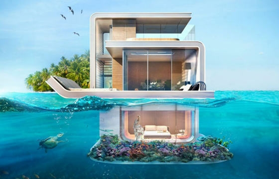 New Yacht Has Submerged Rooms