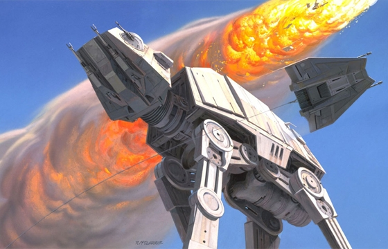 Original Star Wars Concept Illustrations by Ralph McQuarrie