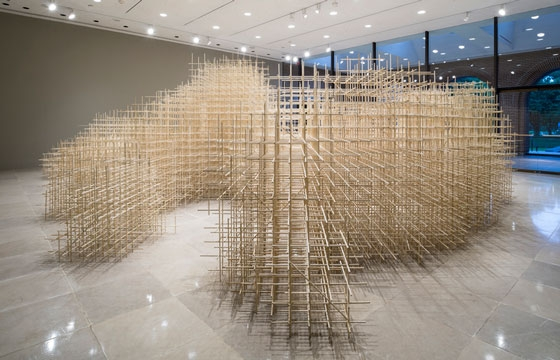 Ben Butler's Unbounded Installation at Rice Gallery
