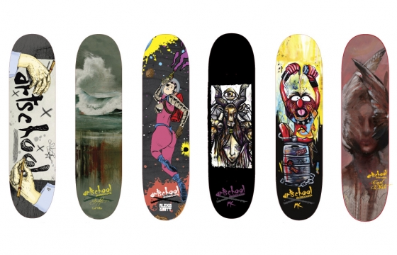 Art School Skateboards