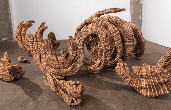Wooden Sculptures and Drawings by Ben Butler